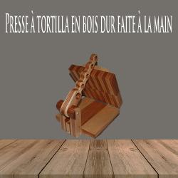 Presse à tortilla en bois...